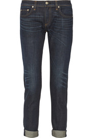 The Dre mid-rise slim boyfriend jeans