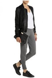 Rag & bone Charlize cashmere and wool-blend track pants