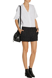 Rag & bone Em flecked tweed shorts