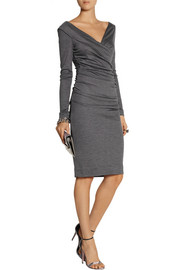 Diane von Furstenberg Bentley ruched wool-jersey dress