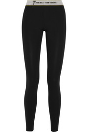 High Density Lux ponte-jersey leggings