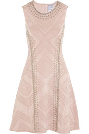 Hervé Léger Stud-embellished bandage dress