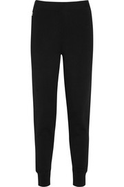 Hervé Léger Stretch-knit track pants