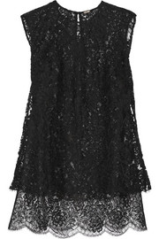 Adam Lippes Layered lace top