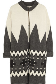 Adam Lippes Wool and cashmere-blend cardi-coat