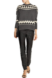 Adam Lippes Fair Isle wool and cashmere-blend sweater