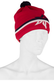 Perfect Moment Star-intarsia merino wool-blend beanie