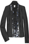 Rue du Mail by Martine Sitbon Taffeta sequin-embellished jacket