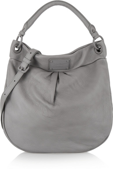 e13d169eebfc Marc by Marc Jacobs. Electro Q Hillier Hobo textured-leather shoulder bag