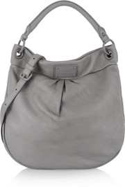 Marc by Marc Jacobs Electro Q Hillier Hobo textured-leather shoulder bag