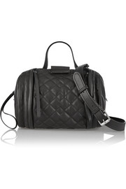 Marc by Marc Jacobs Moto quilted leather shoulder bag