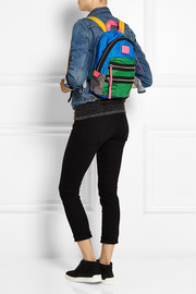 Marc by Marc Jacobs Loco Domo color-block canvas backpack
