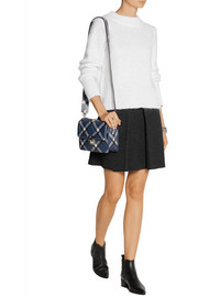 Marc by Marc Jacobs Top Schooly printed leather shoulder bag