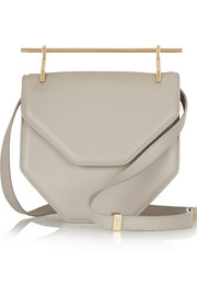 M2Malletier Amor Fati leather shoulder bag