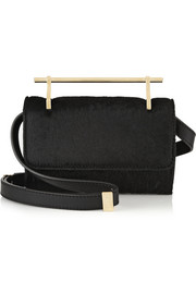 M2Malletier Fabricca mini calf hair shoulder bag