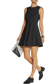 Theory Tillora stretch wool-blend mini dress