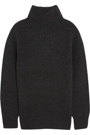 Theory Pate wool and cashmere-blend turtleneck sweater