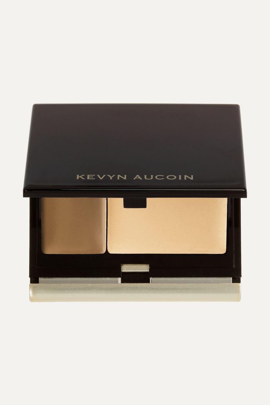 Kevyn Aucoin Blush et rouge à lèvres crème L'éclat crémeux, Candlelight/Sculpting