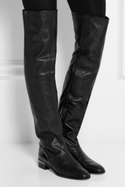 Reed Krakoff Oxford leather over-the-knee boots