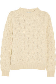 Marc Jacobs Cable-knit cashmere sweater