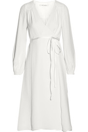 Marc Jacobs Silk-crepe wrap dress