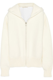 Marc Jacobs Bouclé hooded top