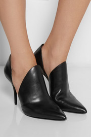 Alexander Wang Leva cutout leather ankle boots