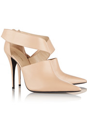 Narciso Rodriguez Camilla cutout leather ankle boots
