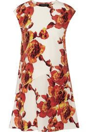 Thakoon Printed silk crepe de chine dress
