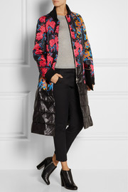 Thakoon Embroidered quilted shell coat