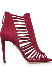 Aquazzura Follow Me suede sandals