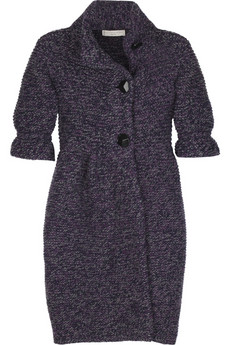 Stella McCartney Bubble hem cardi-coat