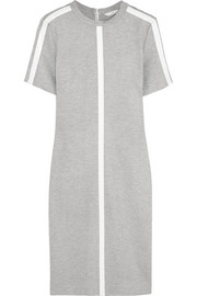 Dion Lee PVC-trimmed stretch-jersey dress