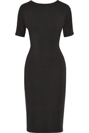 Tamara Mellon Cutout stretch-modal jersey dress