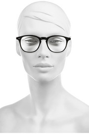 Illesteva Whitman D-frame matte-acetate optical glasses