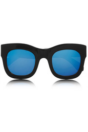 Illesteva Hamilton cat eye acetate sunglasses
