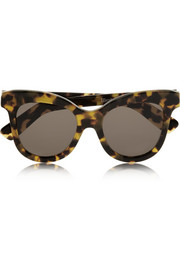 Holly cat eye acetate sunglasses