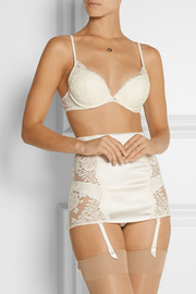 La Perla Pizzo lace and stretch-tulle underwired bra