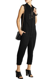 OAK Racer cotton-twill jumpsuit