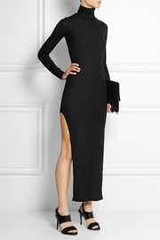 MM6 Maison Martin Margiela Ribbed wool maxi dress