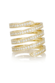 Lynn Ban 14-karat gold diamond ring