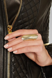 Venyx Lady Mamba 9-karat gold ring