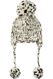 Eugenia Kim Skye chunky-knit wool and alpaca-blend beanie