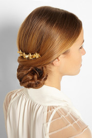 Eugenia Kim Beena gold-plated hair slide