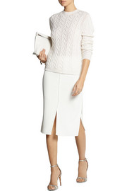 Altuzarra Faulkner stretch-crepe skirt