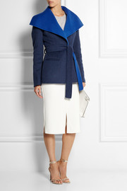 Altuzarra Balthus two-tone wool-blend felt jacket