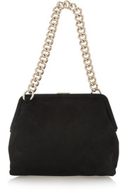 Victoria Beckham Heritage medium suede shoulder bag