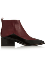 Sigerson Morrison Nina two-tone leather ankle boots
