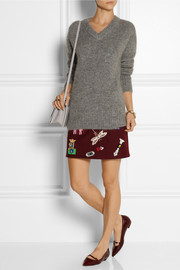 Band of Outsiders Mohair-blend sweater