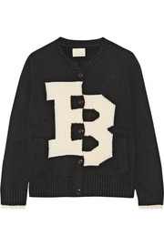 Band of Outsiders Merino wool-blend and bouclé cardigan